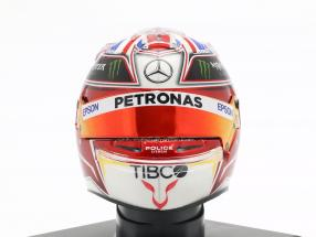 Lewis Hamilton #44 Mercedes-AMG Petronas Weltmeister F1 2019 Helm 1:5 Spark
