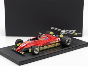 Gilles Villeneuve Ferrari 126C2 #27 Long Beach GP formula 1 1982 1:18 GP Replicas