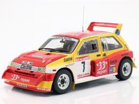 MG Metro 6R4 #7 Champion Rallye de France 1986 Auriol / Occelli 1:18 SunStar