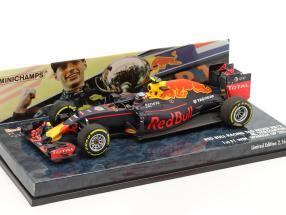 Max Verstappen Red Bull RB12 #33 Winner Spain GP formula 1 2016 1:43 Minichamps