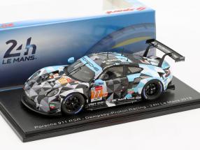 Porsche 911 RSR #77 24h LeMans 2019 Campbell, Reid, Andlauer 1:43 Spark