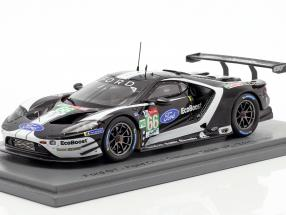 Ford GT #66 24h LeMans 2019  Mücke, Pla, Johnson 1:43 Spark