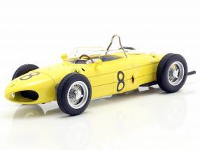 Olivier Gendebien Ferrari 156 Sharknose #8 4th Belgian GP F1 1961 1:18 CMR