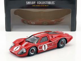 Ford GT40 MK IV #1 Winner 24h LeMans 1967 Gurney, Foyt 1:18 ShelbyCollectibles / 2. Wahl