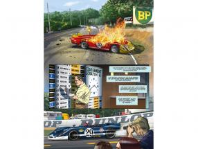 Comic-Set: Steve McQueen in LeMans + And Steve McQueen created LeMans / by Sandro Garbo