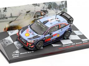 Hyundai i20 WRC #5 5th Rallye Monte Carlo 2018 Neuville, Gilsoul 1:43 Altaya