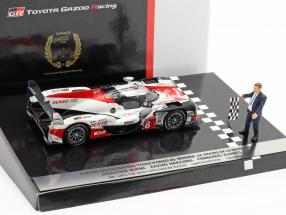 Toyota TS050 Hybrid #8 Winner 24h LeMans 2018 with figure 1:43 Spark