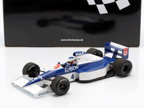 Jean Alesi Tyrrell 018 #4 2nd USA GP Formel 1 1990 1:18 Minichamps