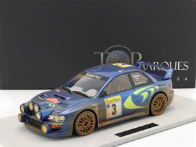 Subaru Impreza S4 WRC Dirty version #3 3rd rally Monte Carlo 1998 1:12 TopMarques / 2. choice