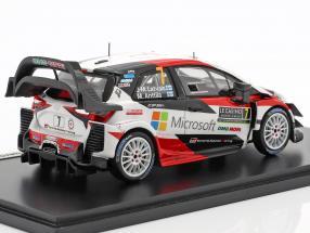 Toyota Yaris WRC #7 3rd Rallye Monte Carlo 2018 Latvala, Anttila