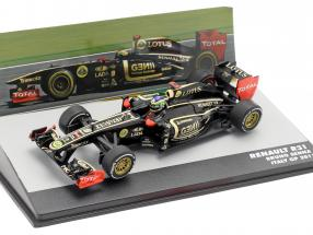 Bruno Senna Lotus Renault R31 #9 italian GP formula 1 2011 1:43 Altaya