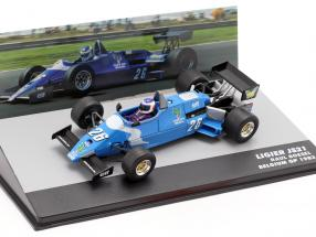 Raul Boesel Ligier JS21 #26 Belgian GP formula 1 1983 1:43 Altaya