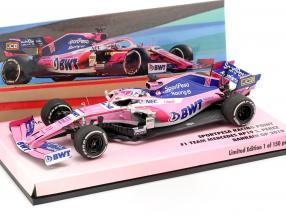 Sergio Perez Racing Point RP19 #11 Bahrain GP formula 1 2019 1:43 Minichamps