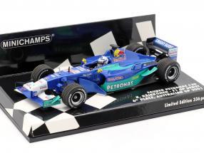 Kimi Räikkönen Sauber C20 #17 6th F1 Debut Australian GP 2001 1:43 Minichamps