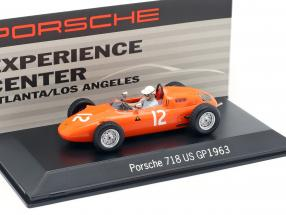 Carel Godin de Beaufort Porsche 718 #12 USA GP Formel 1 1963 1:43 Spark