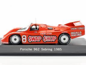 Porsche 962 #8 Winner 12h Sebring 1985 Wollek, Foyt