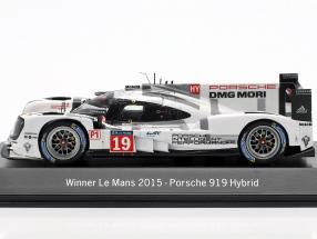 Porsche 919 Hybrid #19 Winner 24h LeMans 2015 Hülkenberg, Tandy, Bamber