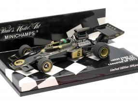 Reine Wisell Lotus 72 #6 Canada GP formula 1 1972 1:43 Minichamps