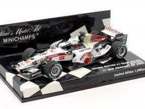 Jenson Button Honda RA106 #12 Winner Hungary GP formula 1 2006 1:43 Minichamps