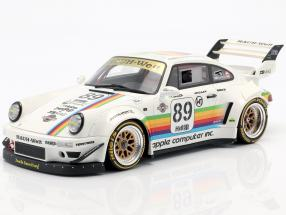 Porsche 911 (964) RWB Body Kit #89 white 1:18 GT-Spirit
