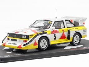 Audi Quattro Sport E2 Rally San Remo 1985 W. Röhrl, C. Geistdörfer 1:43 Altaya