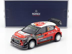 Citroen C3 WRC 2018 #11 2nd Rally Sweden 2018 Breen, Martin 1:18 Norev