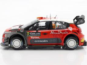 Citroen C3 WRC 2018 #11 2nd Rally Sweden 2018 Breen, Martin