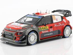 Citroen C3 WRC 2018 #10 Winner Rally Catalunya 2018 Loeb, Elena 1:18 Norev