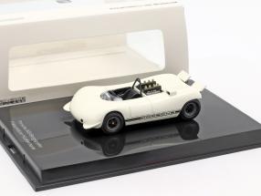 Porsche 909 Bergspyder presentation Hockenheim white 1:43 Norev