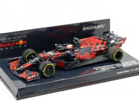 M. Verstappen Red Bull Racing RB15 #33 Silverstone Shakedown F1 2019 1:43 Minichamps