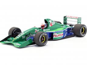 Bertrand Gachot Jordan 191 #32 6th British GP F1 1991 1:18 Minichamps