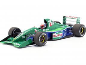 Bertrand Gachot Jordan 191 #32 6th British GP F1 1991 1:18 Minichamps
