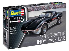 Chevrolet Corvette Pace Car Indy 500 1978 kit 1:24 Revell
