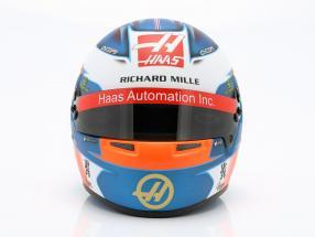 Romain Grosjean Haas VF-19 #8 formula 1 2019 helmet 1:2 Bell