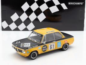 BMW 1602 #61 6h Nürburgring 1970 Lauda, Herzog 1:18 Minichamps