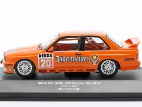 BMW M3 (E30) Sport Evolution #20 DTM 1992 Wayne Gardner