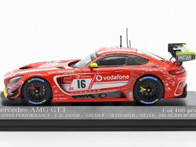 Mercedes Benz AMG GT3 #16 24h Nürburgring 2019 GetSpeed Performance