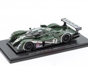 Bentley Speed 8 #7 Sieger 24h LeMans 2003 Kristensen, Capello, Smith 1:43 Spark