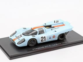Porsche 917K Gulf #21 24h LeMans 1970 Rodriguez, Kinnunen 1:43 Spark