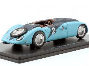 Bugatti 57G #2 Winner 24h LeMans 1937 Wimille, Benoist