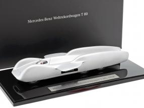 Mercedes-Benz World Record Car T 80 year 1939 silver 1:43 Autocraft