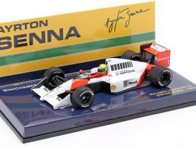 Ayrton Senna McLaren MP4/5 #1 formula 1 1989 1:43 Minichamps