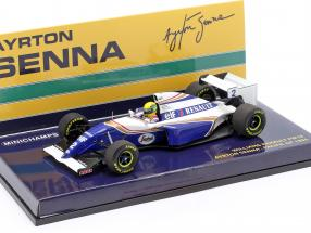 Ayrton Senna Williams FW16 #2 Pacific GP formula 1 1994 1:43 Minichamps