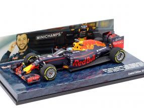 Daniel Ricciardo Red Bull RB12 #3 Aero Shield Test Russland GP F1 2016 1:43 Minichamps
