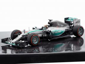 2-Car Set 41. Career victory formula 1 Hamilton (2015) and Senna (1993) 1:43 Minichamps