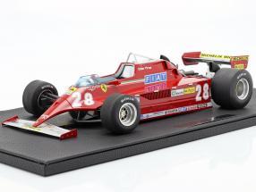 Didier Pironi Ferrari 126CK #28 Formel 1 1981 1:12 GP Replicas