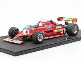 Gilles Villeneuve Ferrari 126CK #27 formula 1 1981 1:12 GP Replicas