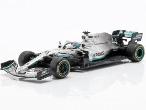 L. Hamilton Mercedes-AMG F1 W10 EQ #44 formula 1 World Champion 2019 1:43 Bburago