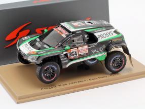 Peugeot 3008 DKR Maxi #364 Rallye Dakar 2019 Lafay, Delaunay 1:43 Spark