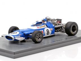 Jean-Pierre Beltoise Matra MS80 #8 Monaco GP formula 1 1969 1:43 Spark